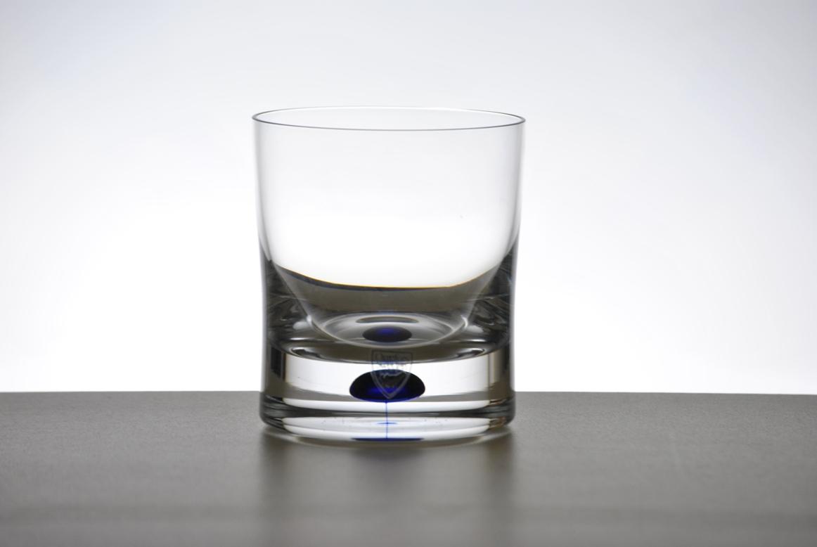 Ποτήρι ουίσκι, σχέδιο Intermezzo της Orrefors, τιμή ζεύγους 80,00