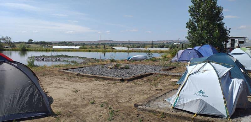 mission Jurasic campsite