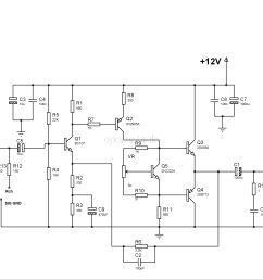 bd139 bd140 audio amplifier schematic [ 3030 x 2130 Pixel ]