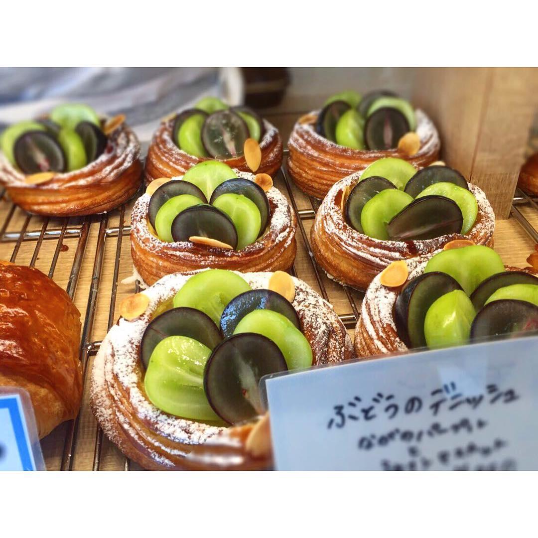 オパンのブドウのデニッシュ(2016.09.09) | OPAN オパン|東京 笹塚のパン屋