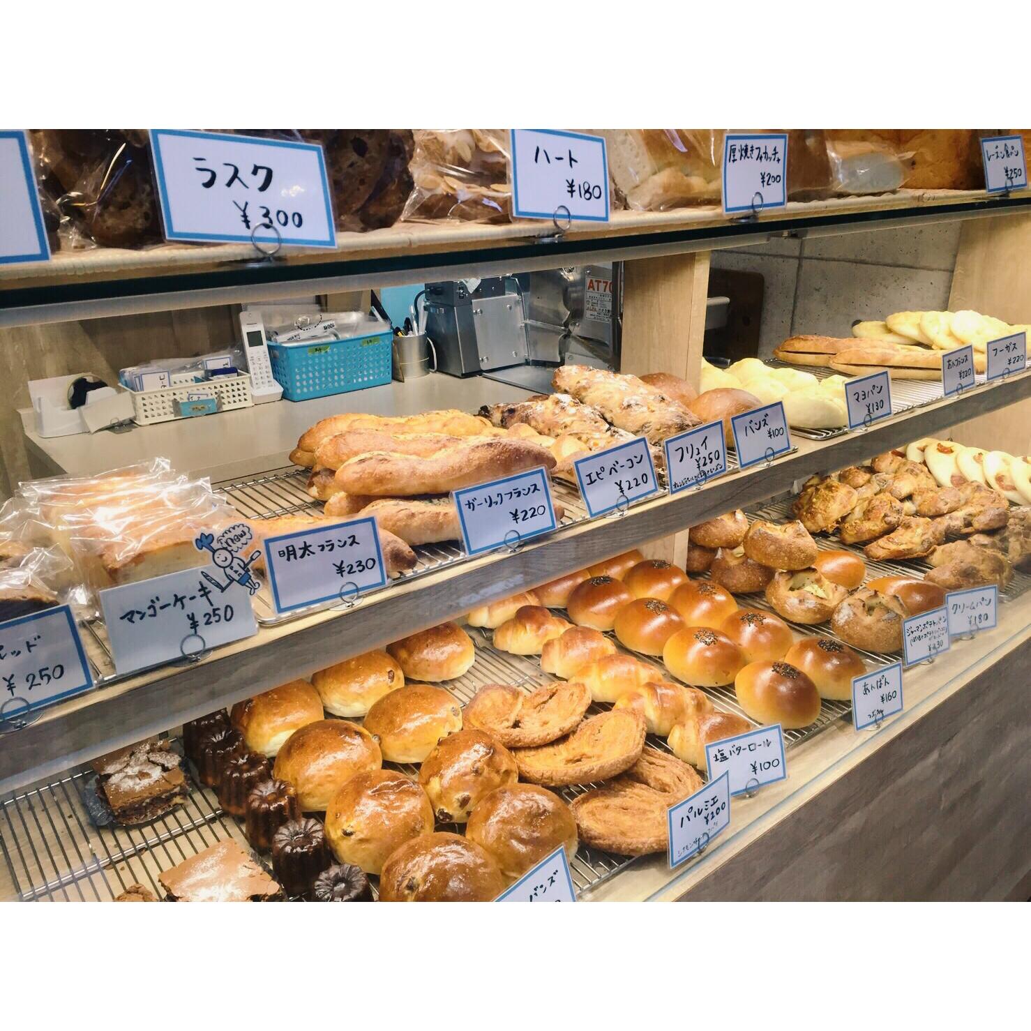 本日のパン棚(2016.09.21) | OPAN オパン|東京 笹塚のパン屋