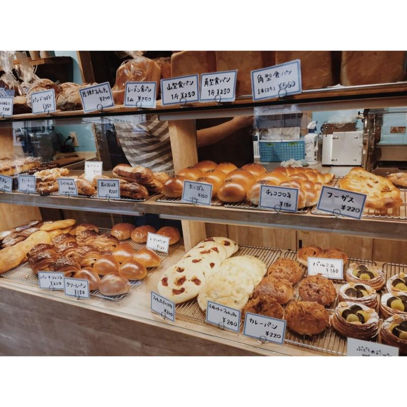 本日のパン棚(2016.09.27)   OPAN オパン 東京 笹塚のパン屋