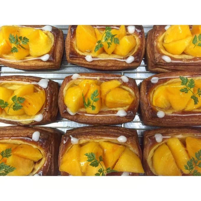 オパンの柿のデニッシュ(2016.10.09) | OPAN オパン|東京 笹塚のパン屋