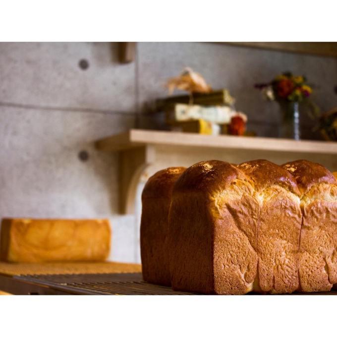 オパンの山型食パン、角型食パン(2016.10.28)   OPAN オパン 東京 笹塚のパン屋