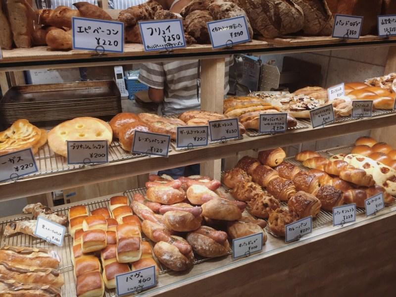本日のパン棚(2016.11.17)