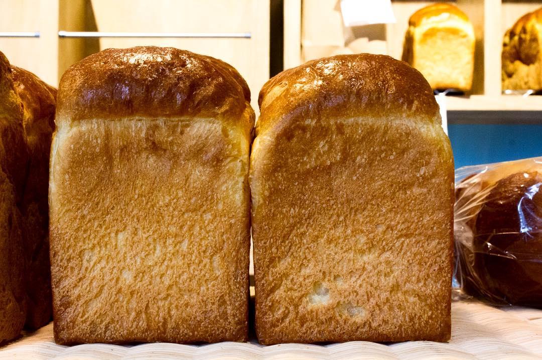 オパンの山型食パン、角型食パン(2016.11.29)