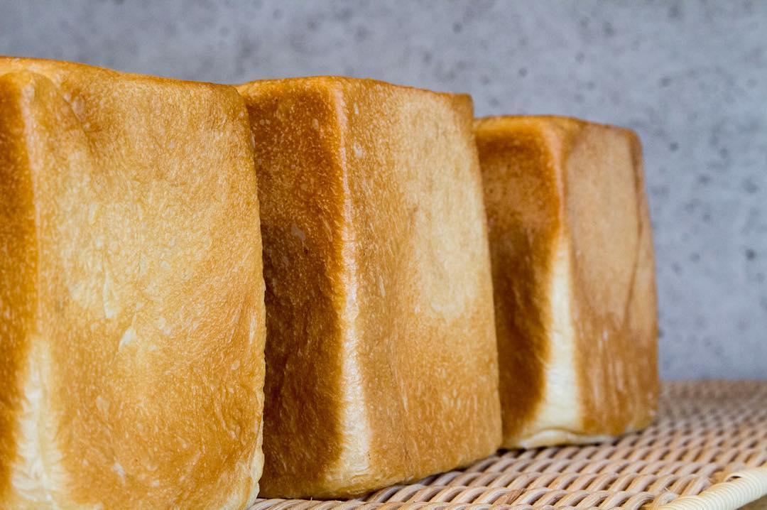 オパンの山型食パン、角型食パン(2017.02.15)