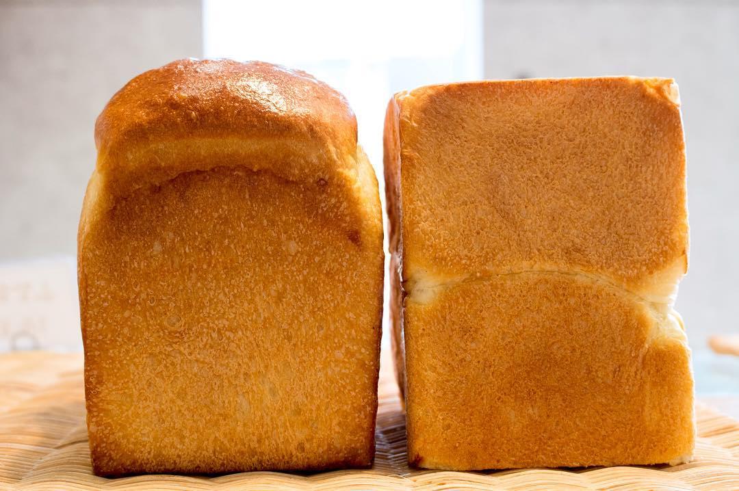 オパンの山型食パン、角型食パン(2017.03.02)