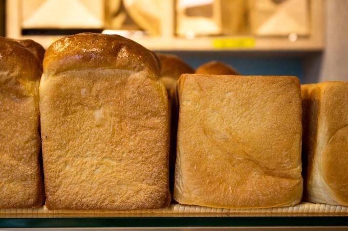 オパンの山型食パン、角型食パン(2017.03.26)