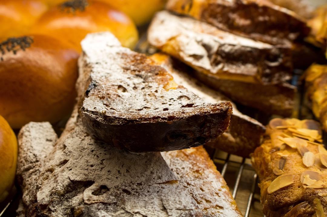 オパンのレーズン食パンのフレンチトースト(2017.04.06)