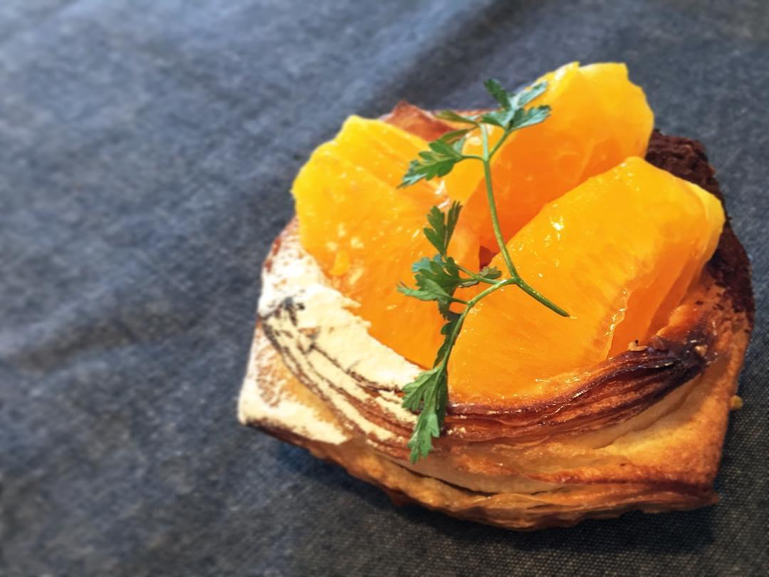 オパンの清見オレンジとショコラのデニッシュ(2017.04.21)