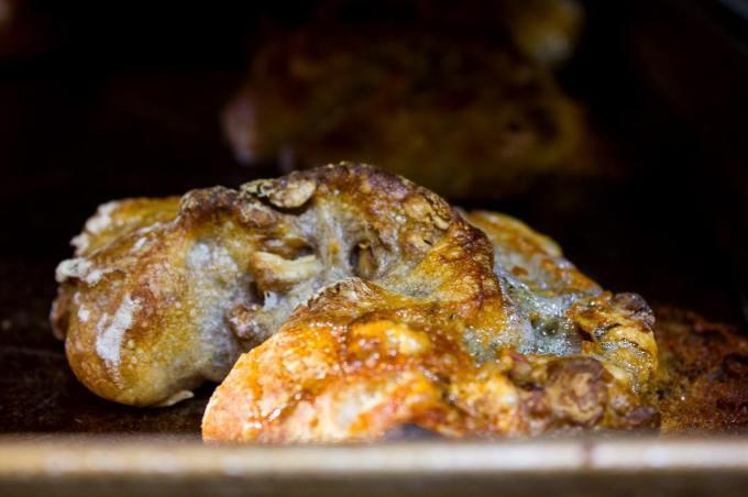 オパンのくるみとゴルゴンゾーラチーズのフランスパン(2017.05.14)