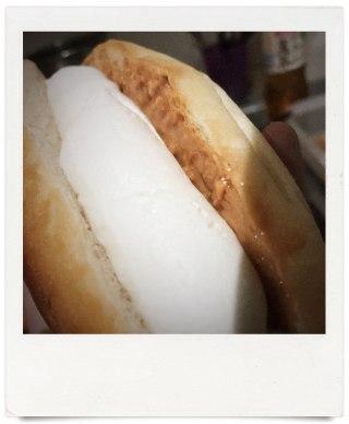 オパンのピーナッツバターサンド(2017.05.18)