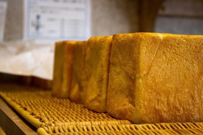 オパンの山型食パン、角型食パン(2017.06.25)