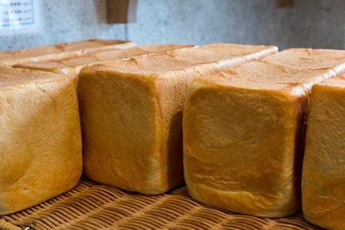 オパンの山型食パン、角型食パン(2017.06.28)