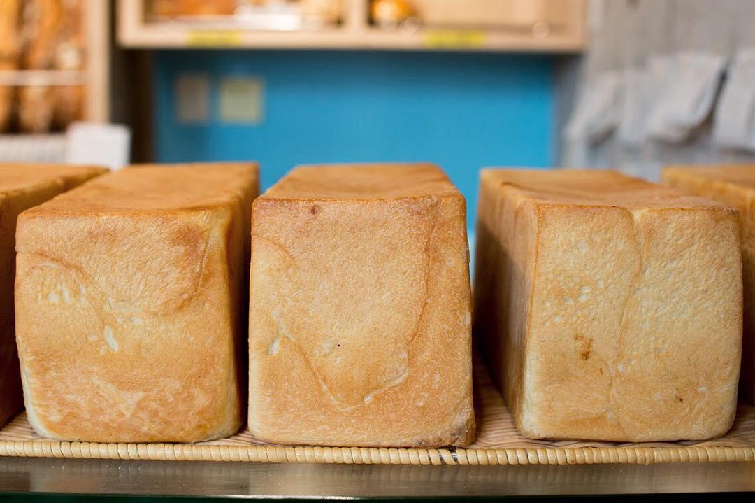 オパンの山型食パン、角型食パン(2017.08.26)