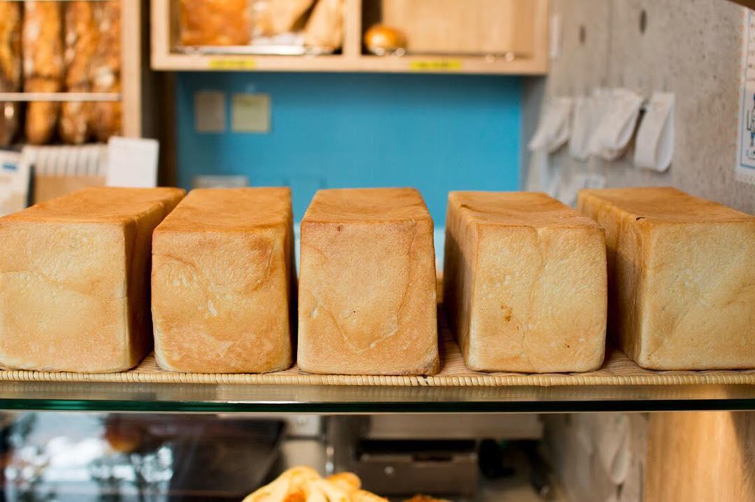 オパンの山型食パン、角型食パン(2017.10.03)