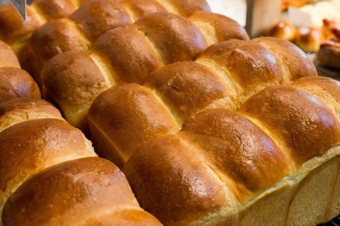 オパンの山型食パン、角型食パン(2017.12.13)