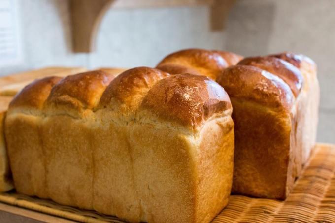 オパンの山型食パン、角型食パン(2018.05.02)