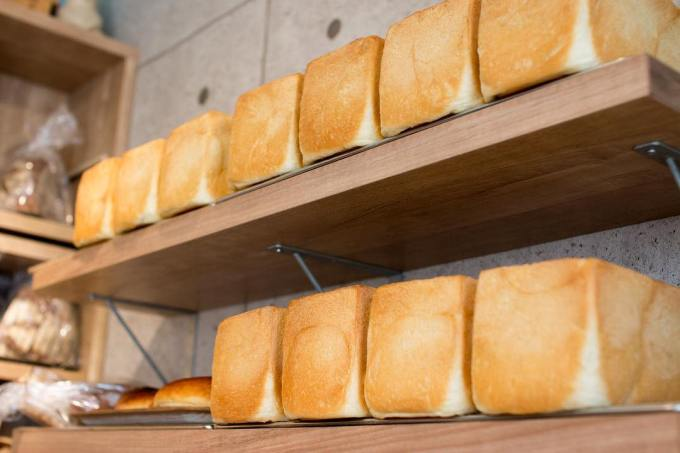 オパンの山型食パン、角型食パン(2018.09.15)