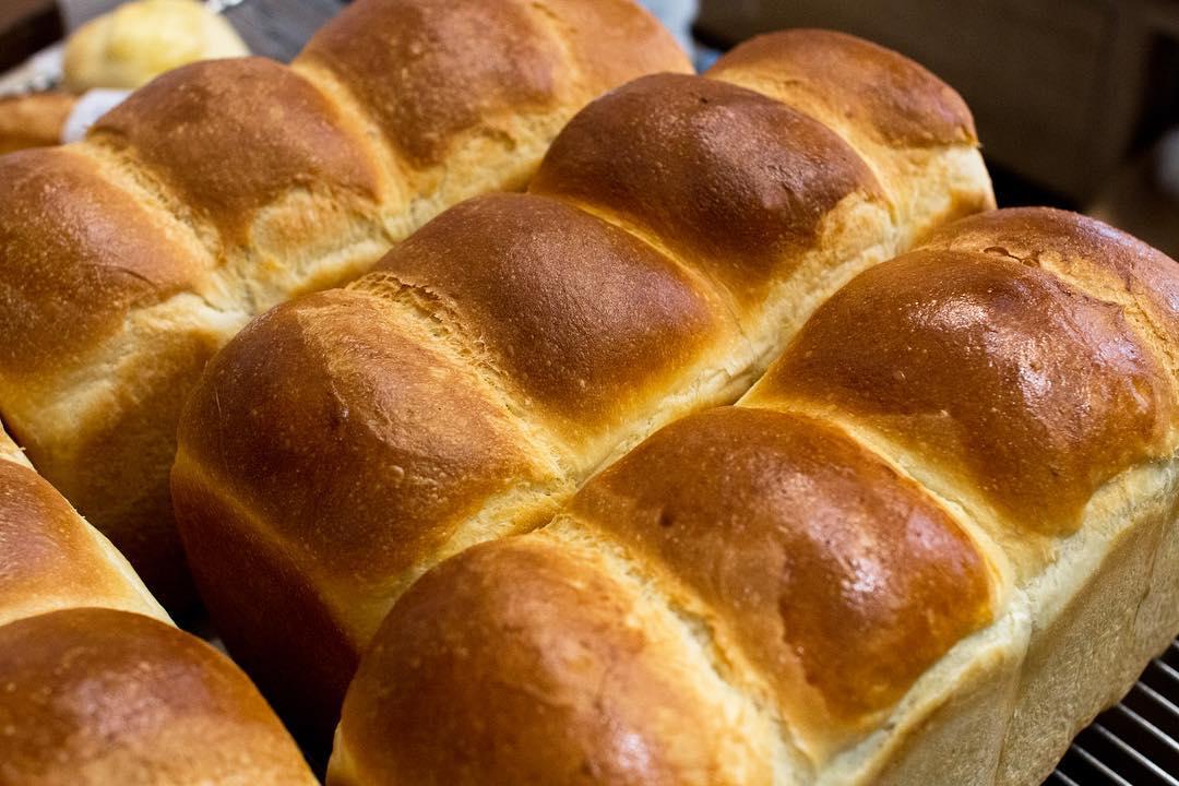 オパンの山型食パン、角型食パン(2018.12.06)