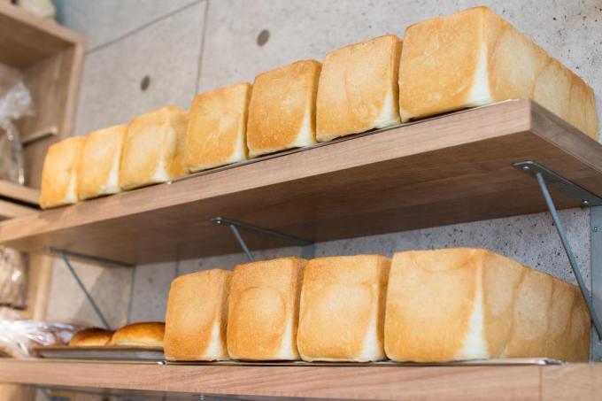 オパンの山型食パン、角型食パン(2019.03.19)