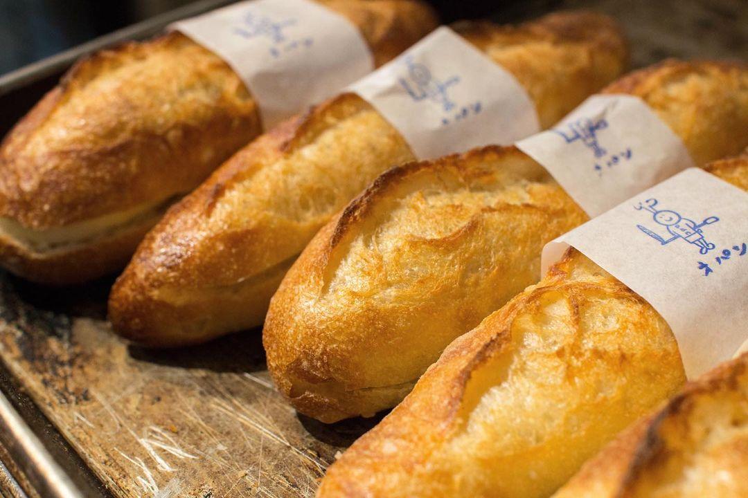 オパンドッグ、ミルクフランスたくさん焼き上げていっております(2021.01.31)