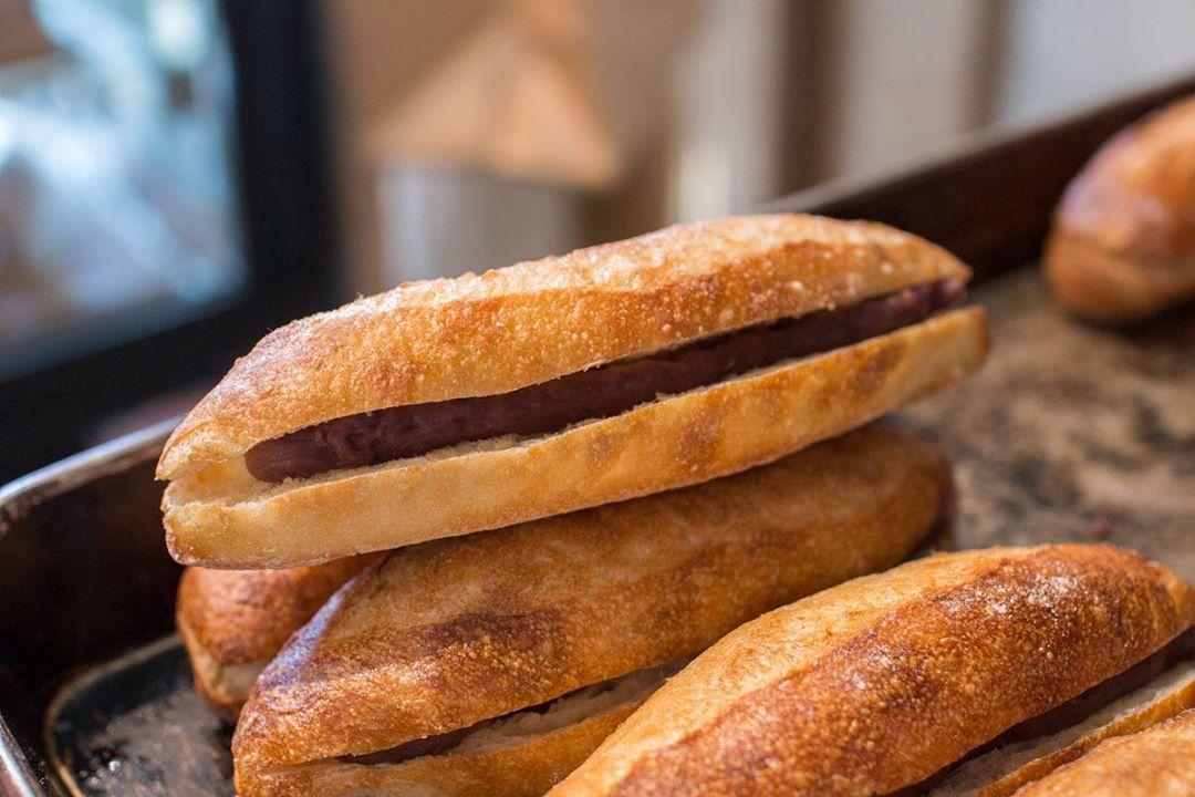 オパンドッグ、ミルクフランスたくさん焼き上げております(2021.02.25)
