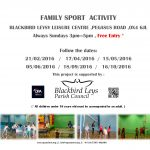 Family Sport Activity - Feb16 to Oct16