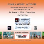 Family Sport Activity - January 2016 2015
