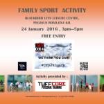 Family Sport Activity - January 2016 2015