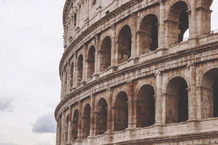 Colisée Rome, sénèque