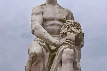 Sculpture d'Épicure