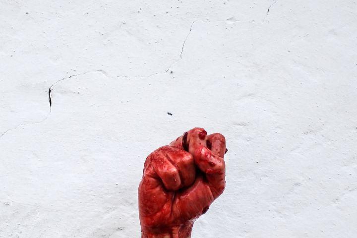 Point ensanglanté, révolution - (utopie révolution concept)
