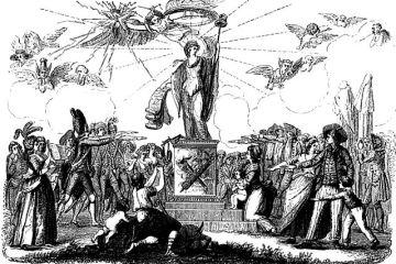 Illustration de la Constitution de 1791