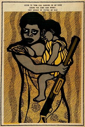 The Revolutionary Artwork of the Black Panther Party's Emory Douglas