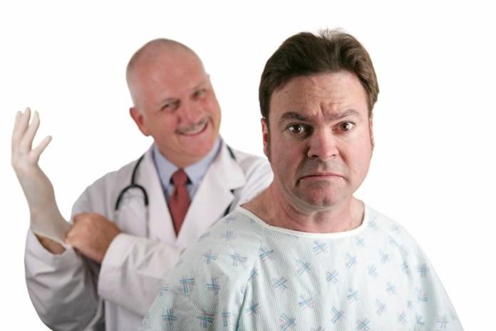First Prostate Exam