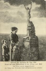 Feldpostkarte Erster Weltkrieg Saarburg