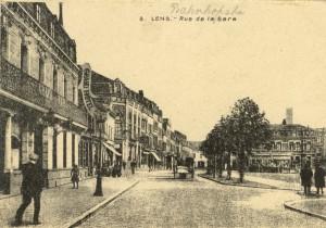 Feldpostkarte Erster Weltkrieg Lens