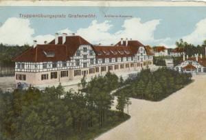 Feldpostkarte Erster Weltkrieg Grafenwöhr