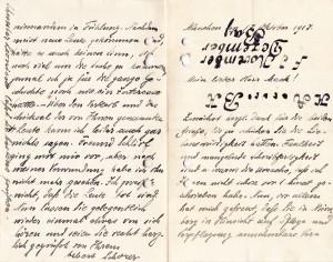 Biref Albert Schorer 17.10.1917 01