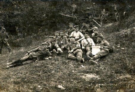 Infanterist Franz Mack Erster Weltkrieg