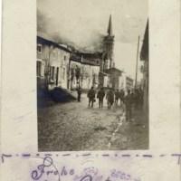 02.04.1915: Kirche in Brand