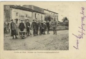Feldpostkarte Erster Weltkrieg Vieville-en-Haye
