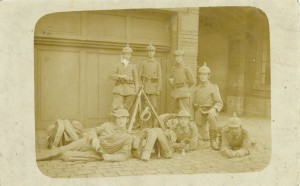Feldpostkarte Erster Weltkrieg Fürth