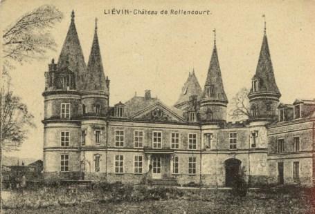 Feldpostkarte Erster Welzkrieg Lievin
