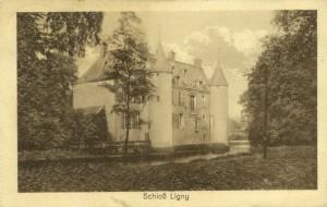Feldpostkarte Erster Weltkrieg Ligny