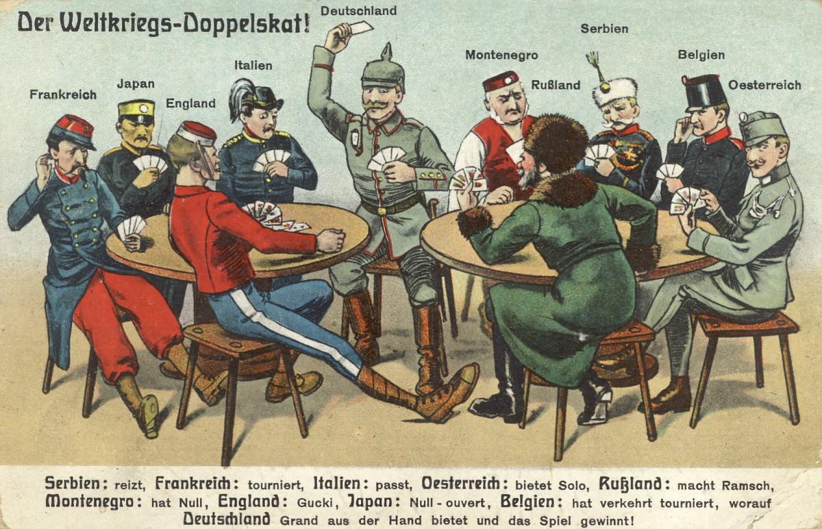 11.08.1915: Weltkriegs-Skat
