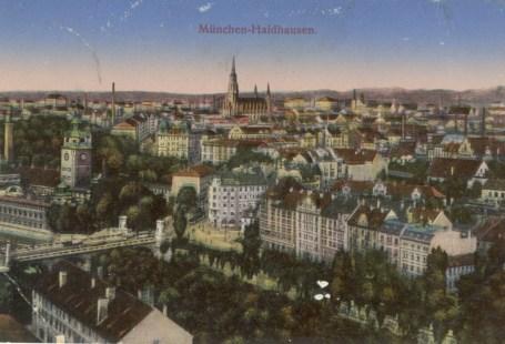 Feldpostkarte Erster Weltkrieg München-Haidhausen