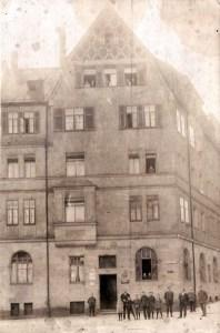 Kapellenstraße damals